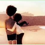 Ilustração: O amor nas pequenas coisas